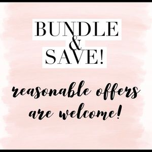 Other - Bundle and save! Reasonable offers welcome!